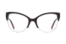 57bf65b9e4 Discount Browline Semi-Rimless Glasses Frames with Prescription Lenses