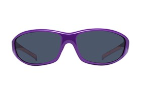 NCAA Clemson Tigers Wrap Sunglasses Purple
