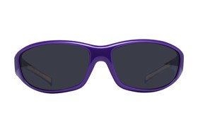 NCAA LSU Tigers Wrap Sunglasses Purple