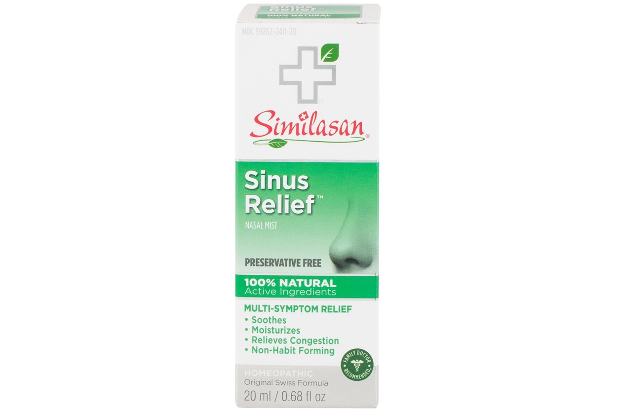 Similasan Sinus Relief Nasal Spray (.68 fl. oz.) DryRedEyeTreatments