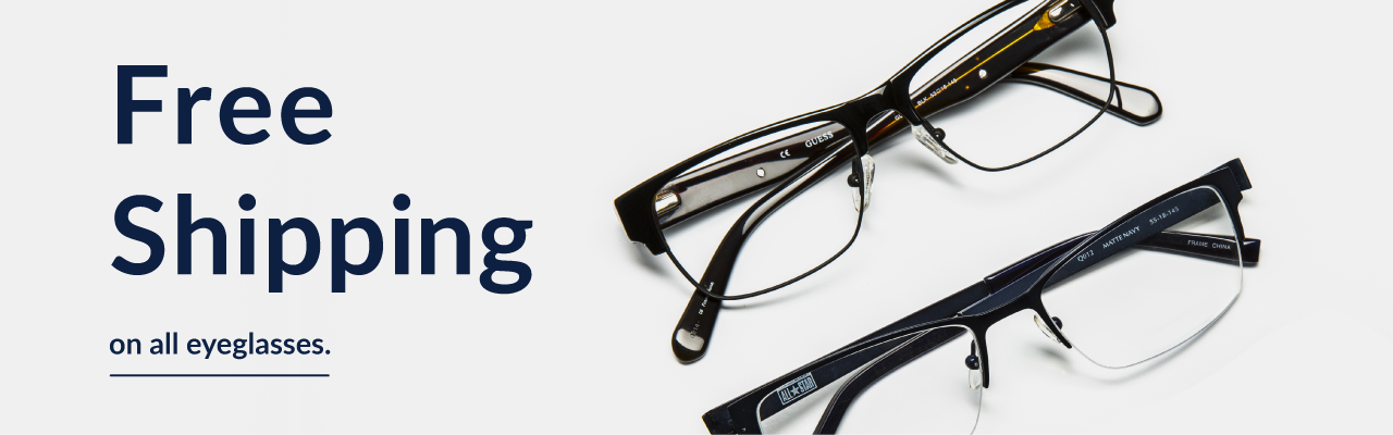 Free Shipping on all Eyeglasses