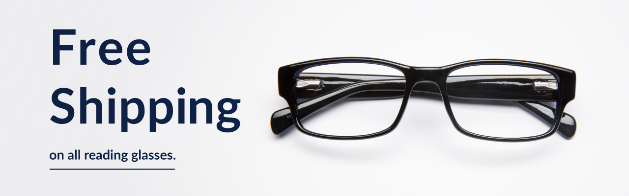 Free Shipping on all reading glasses