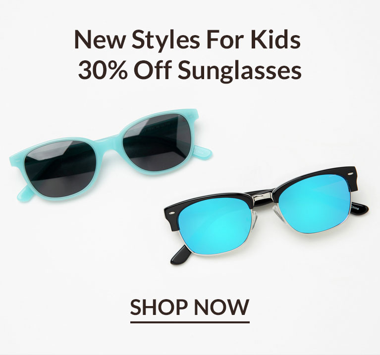 30% off Kids' Sunglasses