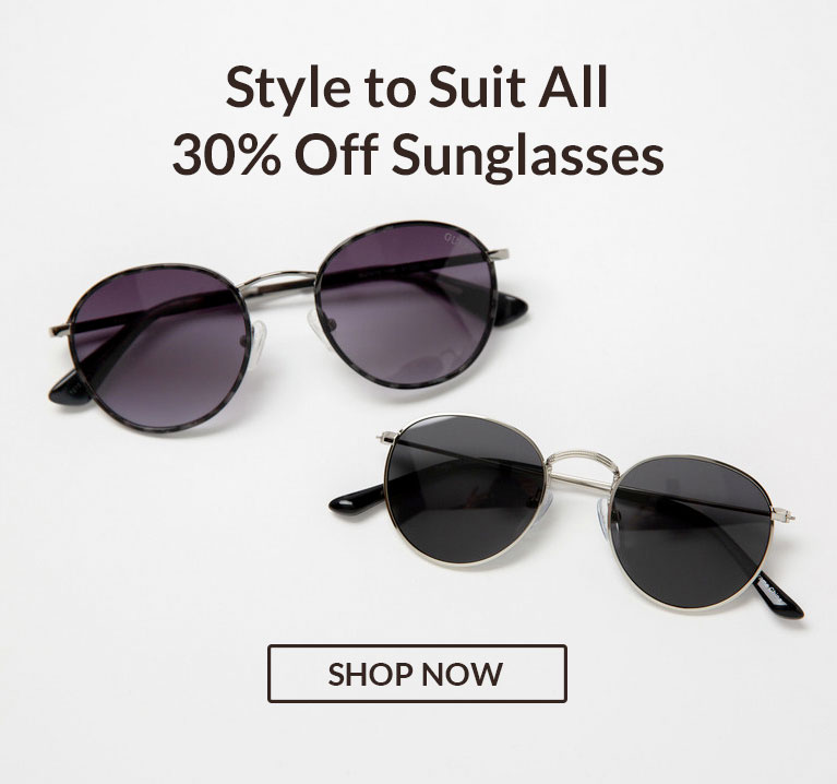 30% off Sunglasses